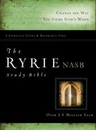 NASB Ryrie Study Bible (Red Letter Edition) Hardback