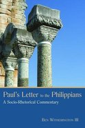 Paul's Letter to the Philippians Paperback