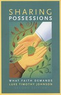 Sharing Possession: What Faith Demands Paperback