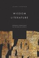 Wisdom Literature Paperback