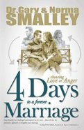 4 Days to a Forever Marriage Paperback
