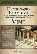 Diccionario Expositivo De Palabras Del At Y NT Vine (Vine's Dictionary Of The Ot And Nt) Hardback