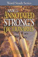 Amg's Annotated Strong's Dictionaries Hardback