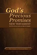 NASB God's Precious Promises New Testament and Psalms and Proverbs Black Bonded Leather