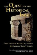 The Quest For the Historical Israel Paperback