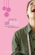 She's All That (#1 in Spa Girls Series) Paperback