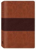KJV Study Bible Brown Dicarta Imitation Leather