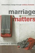 Marriage Matters Paperback