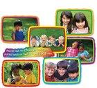 Mini Bulletin Boards: Jesus Loves the Children (Mark 10:16 Header) Chart/card