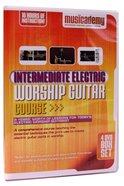 Musicademy: Intermediate Electric Worship Guitar Box Set