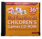 Giant Game Floor Mat Childrens's Games Cd-Rom Cd-rom