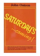 Saturday's Coming Booklet