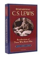 Remembering C S Lewis Paperback
