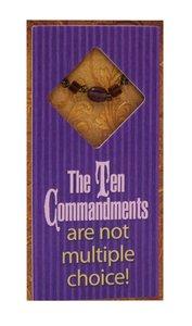 Little Gems Easeled Magnet: Ten Commandments