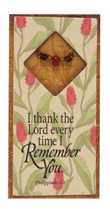 Little Gems Easeled Magnet: Remember You