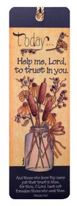 Tassel Bookmark: Today... Help Me Lord to Trust in You