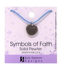 Symbols of Faith Pendant: Sheep John 10:11