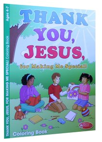 Thank You, Jesus (Ages 4-7, Reproducible) (Warner Press Colouring & Activity Books Series)