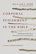 Corporal Punishment in the Bible Paperback