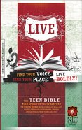 NLT Live Bible (Black Letter Edition)