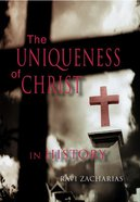 The Uniqueness of Christ in History DVD