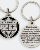 Keyring: Medals of Hope: Strength (Lead Free Pewter)