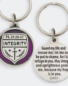 Keyring: Medals of Hope: Integrity (Lead Free Pewter)