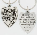 Keyring: Victory Shield (Lead-free Pewter) Jewellery
