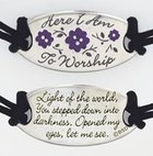 Bracelet: Songs of Worship: Here I Am to Worship (Cord) Jewellery