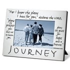 Pewter Photo Frame: Journey Homeware