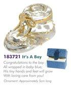 Glass Messengers: Its a Boy Shoe