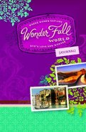 Wonder Full World Journal Paperback