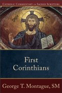 First Corinthians (Catholic Commentary On Sacred Scripture Series) Paperback