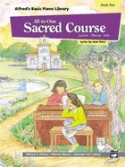 Alfred's Basic All-In-One Sacred Course For Children Book 5 (Music Book) Paperback