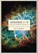 Genesis 1-3 Paperback