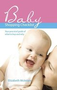 Baby Shopping Checklist: Your Practical Guide of What to Buy and Why