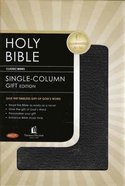 NKJV Single-Column Larger Print Genuine Leather