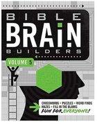 Bible Brain Builders Volume 5 (#05 in Bible Brain Builders Series) Paperback