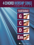 4 Chord Worship Songs For Guitar (Music Book) Paperback