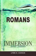 Romans (Immersion Bible Study Series)