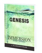 Genesis (Immersion Bible Study Series) Paperback