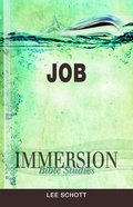 Job (Immersion Bible Study Series) Paperback