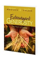 Extravagant Generosity (Program Guide With Cd) Paperback