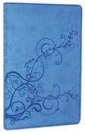 ESV Thinline Bible Skyblue Ivy Design Imitation Leather