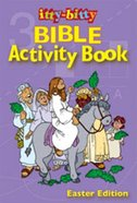 Activity Book Easter (Itty Bitty Bible Series) Paperback