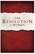 The Resolution For Women (Large Print)