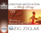 Winning With a Balanced Goals Program (6 CDS) (#02 in Christian Motivation For Daily Living Series) CD
