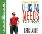 What Every Christian Needs to Know CD