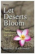 Let Deserts Bloom Paperback