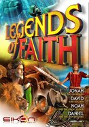 Jonah, David, Noah, Daniel (#01 in Legends Of Faith Comic Book Series) Paperback